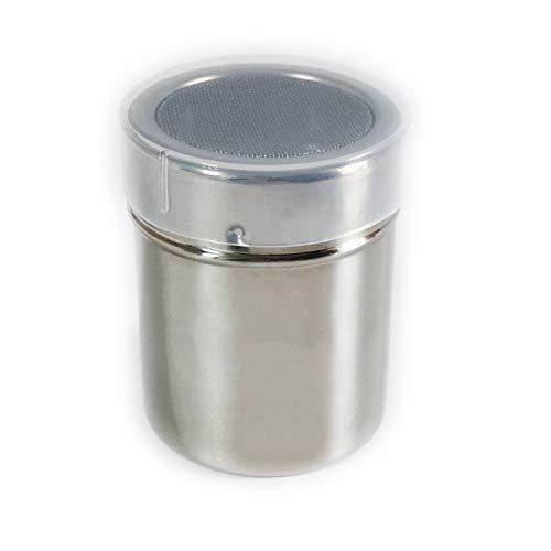 1 Pack Shaker Sifter Dispenser Duster 18/8 Stainless Steel For Cinnamon Flour Powdered Sugar baking soda ect (Model-2)