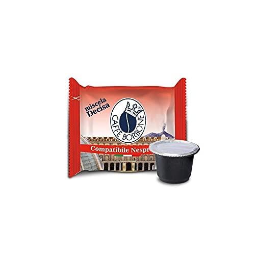 Caffè Borbone 50 Respresso, Compatibili Nespresso, Miscela Decisa - 250 gr