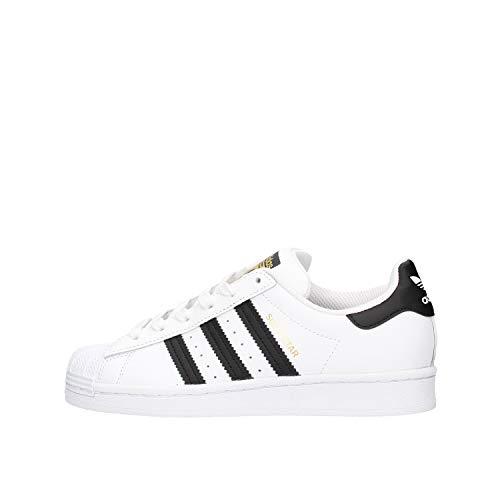 adidas Unisex Kinder Superstar J sneakers, White, 38 2 3 EU
