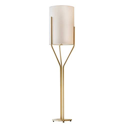 liushop Lámpara de Pie Lámpara de pie Creativa Simple Sala de Estar Lámpara de sofá Habitación Habitación de Hotel Lámpara Vertical Iluminación Interior (Size : Medium)