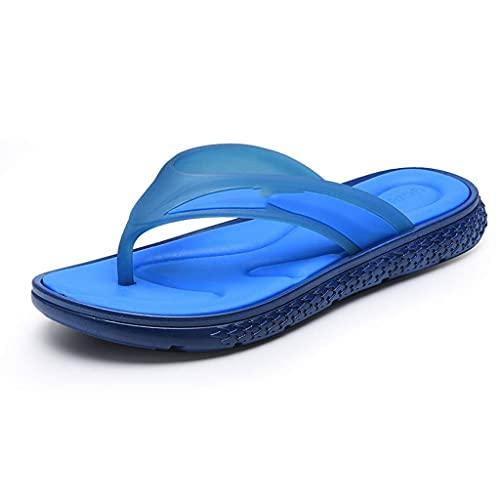 Męskie kapcie męskie sportowe klapki komfortowe dorywczo stringi sandały na zewnątrz (rozmiar: 40) sandały dla mężczyzn WUTONG (Size : 44)