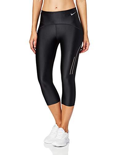 Nike Damen W NK Speed CPRI Sport Trousers, Black/(Gunsmoke), L