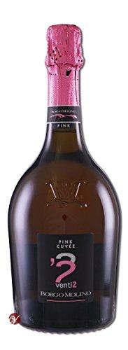 Pink Cuvee venti 2 Vino Spumante Extra Dry Borgo Molino