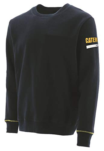 CAT Workwear Mens Essentials Cotton Crew Neck Work Sweater