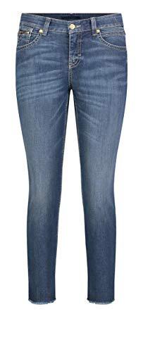 MAC Jeans Damen Slim Open Hem Jeans, D823 Vintage wash, 36/29