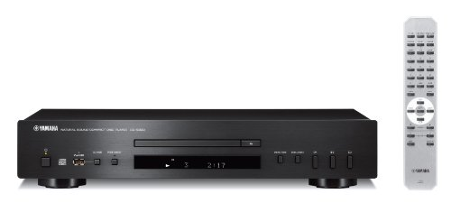 Yamaha CD-S300 - Reproductor de CD, MP3, WMA, USB, color negro