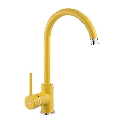 DeanteMiscelatore giallo per rubinetto da cucina Milin