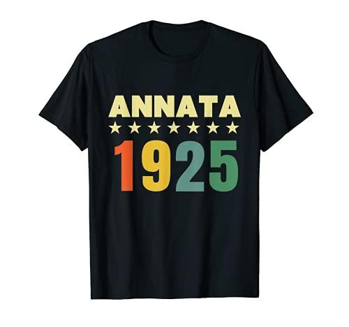 96 anni compleanno Maglietta Annata 1925 Maglietta