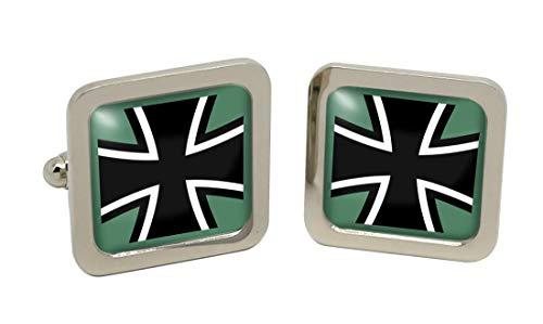 Gift Shop Federal Defence Fuerzas de Alemania (Bundeswehr) Gemelos Cuadrados en Caja