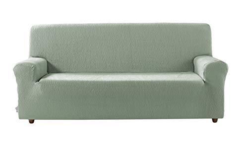 Estoralis Beta Funda de sofá elástica, Tela, Verde, 3 Plazas