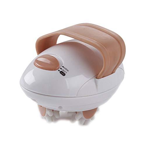 Yiyu Fat Massager 3D Electric Ganzkörper-Abnehmen Gewichtsverlust & Fettverbrennung & Anti-Cellulite-Massage Schlankere Gerätegesundheit x (Color : White)
