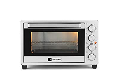 La Gourmet Toaster Oven - 32L Toast Bake Broil Grill Rotisserie with accessories
