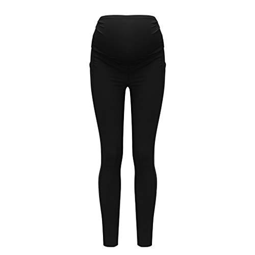 1/2PC Leggings de maternité sans couture pantalon d'impression des femmes extensible pantalons...
