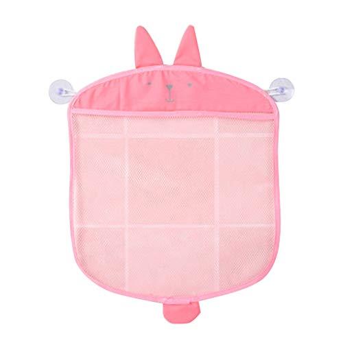 DANDANdianzi Salle de Bains Hanging Stockage Mesh Bag Cartoon Grande Rapide conteneur de Stockage capacité Rapide Support Toy Baignoire Conteneur Sec