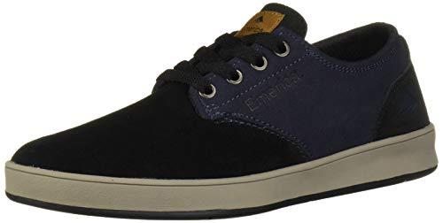 Emerica Men's The Romero Laced Skate Shoe, Black/Navy, 10.5 Medium US