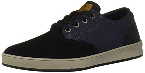 Emerica Men's The Romero Laced Skate Shoe, Black/Navy, 10.5 Medium US