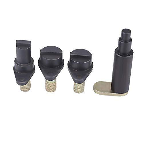 Motor-Einstellwerkzeug, 4 stücke Motor Timing Tool Set Motor Timing Cam Kurbel Locking Tool Set für Fox Ibiza 1.2 OHC 6 und OHC 12 Valve Engines, mit Kunststoffkoffer