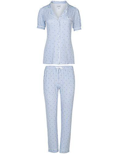 Vive Maria Seaside Pyjama Blau Allover, Größe:S