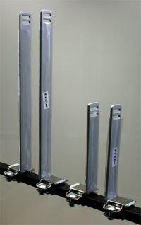 Eckla 78946 Senkrechtstütze für Dachträger 20 cm, Stahl pulverbeschichtet
