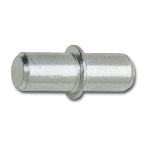 SECOTEC Bodenträger DUO mit Ring | Bohr ø 5 mm | Plattenträger zum Stecken | Stahl | 100 Stück