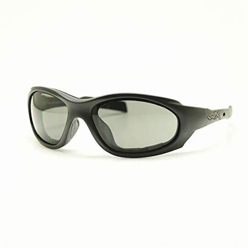 Wiley X XL-1 Advanced Lunettes de soleil mixtes Gris/transparent/noir mat Taille S/L