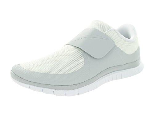 NIKE Free socfly Laufschuhe White-White-White - 45