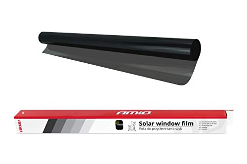 AMIO zonwerende folie voor schaduw en UV-bescherming | perfecte oplossing voor thuis, toepassingen en kantoor | afmetingen: 0,5 m x 3 m