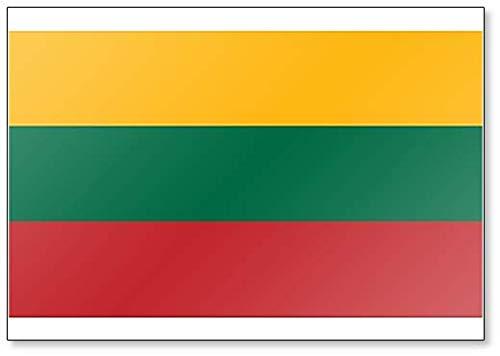Kühlschrankmagnet, Motiv Flagge von Litauen