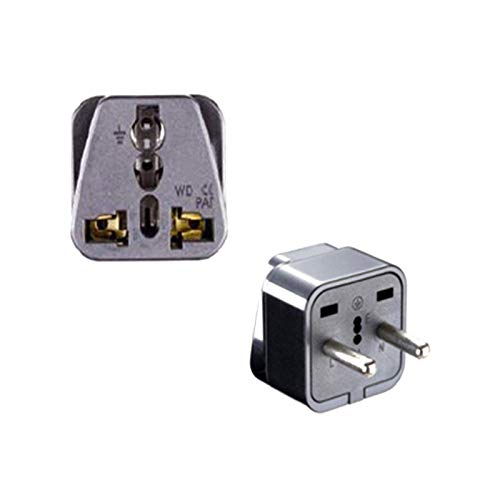 1PC Universal US UK AU to EU Plug USA to Euro Europe Travel Wall AC Power Charger Outlet Adapter Converter Portable