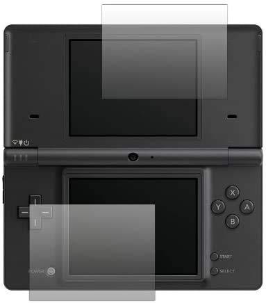 Slabo 2 x Displayschutzfolie kompatibel mit Nintendo DSi Displayschutz Schutzfolie Folie Crystal Clear KLAR