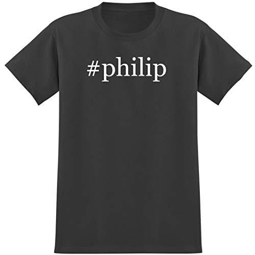#philip - Soft Hashtag Men's T-Shirt, Grey, Small