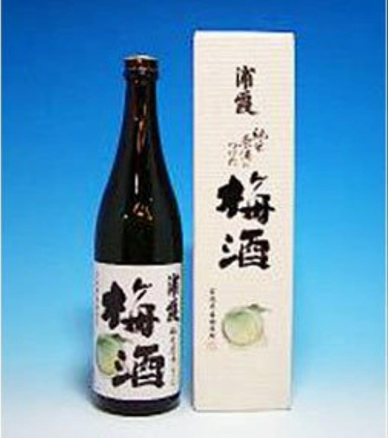 フレットそのようなワイン浦霞の梅酒(化粧箱入り) 720ML