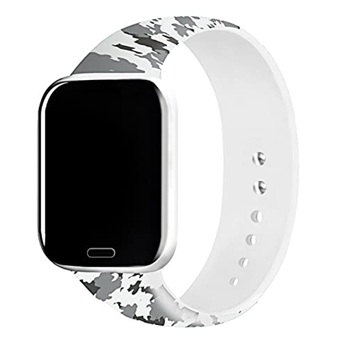 Para iWatch 4 5 Correa 44mm 40mm Bandas negras Pulsera de gel de sílice deportiva 38mm 42mm para Apple Watch 2 3 1 Accesorios
