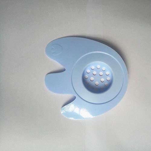 Couvercles De Drain De Douche 4Pc Creative Barrier Plug Silicone Floor Drain Cover Salle De Bains Évier Cheveux Anti-Plug Filtre Avec Ventouse