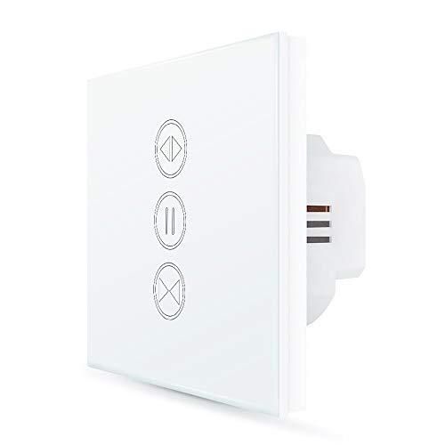 LoraTap Interruptor de Persianas WiFi, para Cortina Electrica Inteligente Funciona con App...