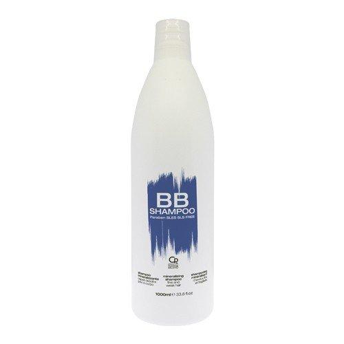 BB Hair Care - Shampoo Mineralizzante - Prodotto Professionale Volumizzante con Minerali Ideale per Capelli Deboli e Fini - 1 L