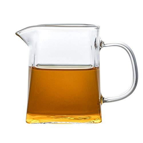 Glazen Cup Creatieve Kung Fu Theeset Justice Cup Thee Serveerbekers Delen Pot Clear Theepot Kruik Lique Divider Voor Wijnsap, Zonder Thee Strainer