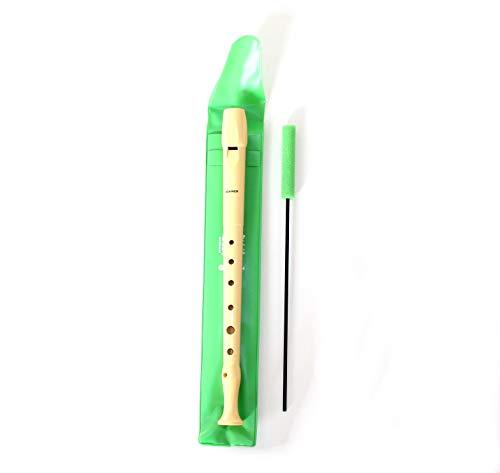 Flauta plástico D digitacion como gaita gallega. Modificada para poder aprender las canciones de gaita con la misma posición de los dedos.