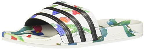 adidas Damen Adilette W Aqua Schuhe, Mehrfarbig (FTWR White/Core Black/FTWR White Ee4851), 40 2/3 EU
