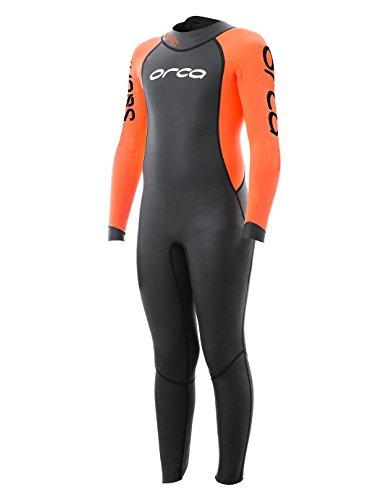 Open Squad Neoprenanzug, schwarz/orange