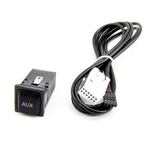 Watermark AX-0920 AUX Einbau Buchse Adapter für VW RCD510, RCD310, RCD300, RCD210, RNS510, RNS315, Skoda Columbus