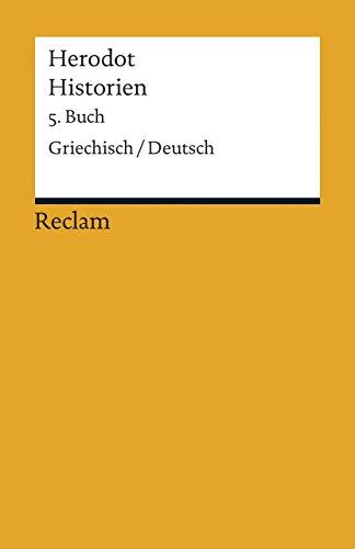 Historien. 5. Buch: Griechisch/Deutsch (Reclams Universal-Bibliothek)