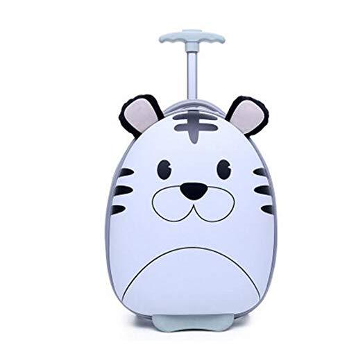 Koffer XYDBB Reiskoffer voor jongenskoffer Meisjeskindertassen voor kinderen Rolling Koffer Zoals afgebeeld-1 16 inch koffer