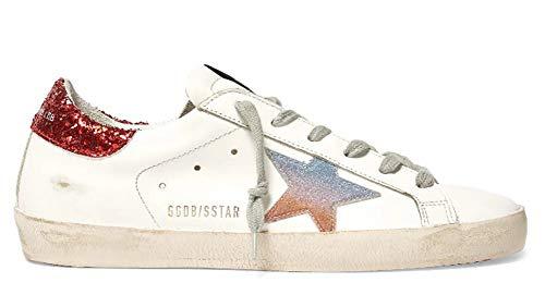 VCEGGDB Zapatillas de deporte antideslizantes para hombre Super Star Casual Walking Shoes, color, talla 42 2/3 EU