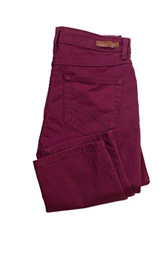 Stooker Damen Stretch Jeans Hose - Zermatt - Slim FIT - Deep Plum - (36W / 30L)