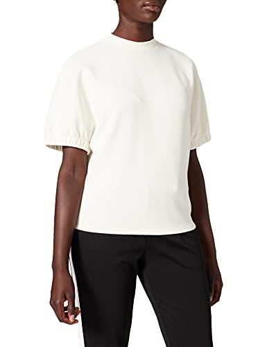 Taifun T-Shirt 1/2 Arm Camiseta, Blanco Roto, 40 para Mujer