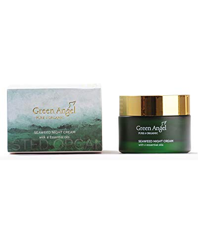 Green Angel Seaweed Night Cream With 6 Essential Oils (50Ml)