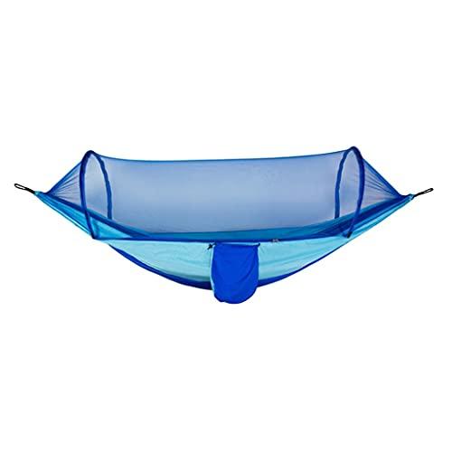 MQH Amaca Amaca con Net ed Equilibrio Spreader Bar Paracadute Tessuto Tessuto Amaca per Viaggi per Campeggio all aperto Camping Backpacking Travel Escursionismo Campeggio