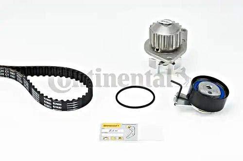 Contitech Pompe à eau et courroie de distribution pour le numéro de référence : Ct1067wp1