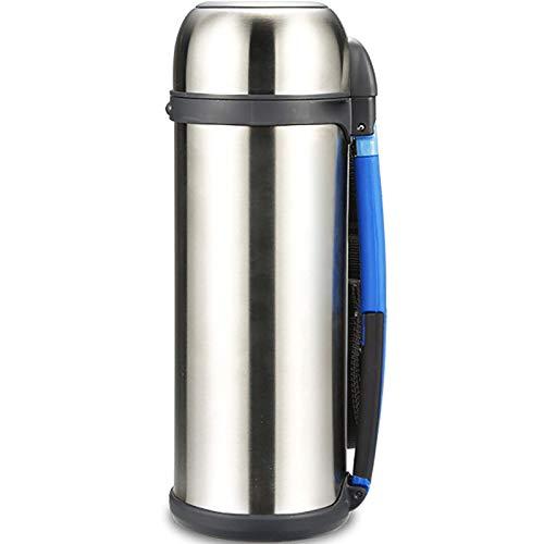 NLRHH Deportes térmica Botella de Agua, Material del Acero Inoxidable, Antideslizante, Conveniente for el Recorrido al Aire Libre, de Gran Capacidad de 2000 ml en el Coche Peng